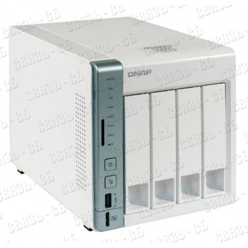 Сетевое хранилище QNAP D4 Pro , 4 Hot-Swap tray w/o HDD, Celeron N3060 dual-core 1,6GHz-2,48GHz, 1GB