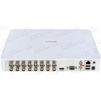 DS-H116G, 16-ти канальный гибридный HD-TVI регистратор для  аналоговых, HD-TVI, AHD и CVI камер + 2