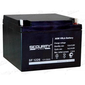 Аккумулятор SF1226 (12В, 26А/ч)