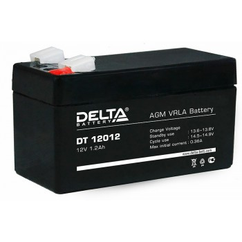 Аккумулятор АКБ Delta DT 12012