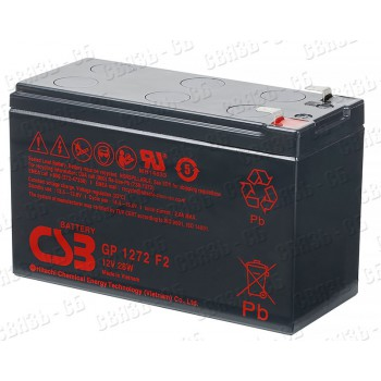 Аккумулятор CSB GP1272 (12 В, 7.2 А/ч)
