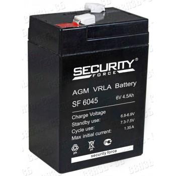 Аккумулятор SF6045 (6В, 4.5 А/ч)