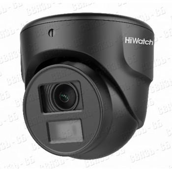 DS-T203N (2.8 mm), 2Мп уличная миниатюрная купольная HD-TVI камера с EXIR-подсветкой до 20м