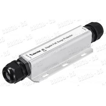 NSP-121PGi Молниезащита и защита от перенапряжения для 1 Ethernet порта с PoE 802.3af/3at/3bt, outdo