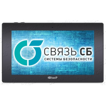 """BAS-IP AK-10L BLACK Видеодомофон индивидуальный Touch Screen 10""""  c памятью (фото и видео)"""