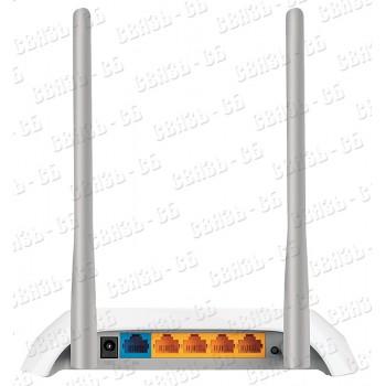 Роутер беспроводной TP-Link TL-WR840N N300 10/100BASE-TX белый