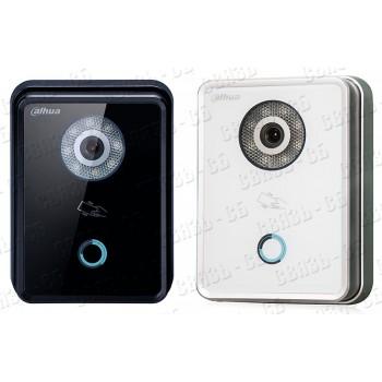 DH-VTO6210BW, Одноабонентская вызывная IP панель; 1.3 Мп CMOS видеокамера; Материал:Закаленное стек