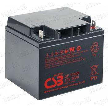 Аккумулятор  CSB (Hitachi ) GP 12400