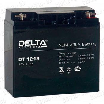 Аккумулятор АКБ Delta DT 1218