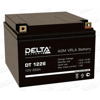 Аккумулятор АКБ Delta DT 1226