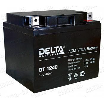 Аккумулятор АКБ Delta DT 1240