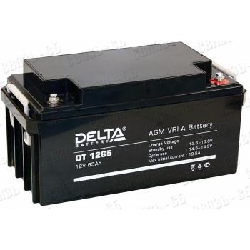 Аккумулятор АКБ Delta DT 1265