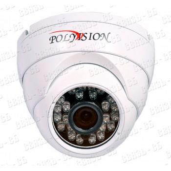 PD1-A2-B2.8 v.2.2.2 PolyVision Видеокамера цв, купол AHD,2Мп