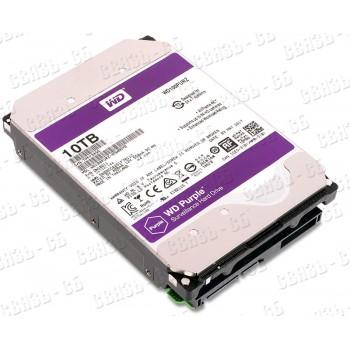 "Жесткий диск WD Original SATA-III 10Tb WD100PURZ Purple (5400rpm) 256Mb 3.5"""