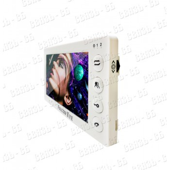 "Cosmo HD Plus Видеодомофон: дисплей 7"" TFT; поддержкой форматов AHD, CVI, TVI (1080р/720p) или CVBS"