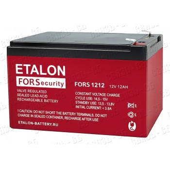 Аккумулятор FORS 1212 (12В, 12 А/ч)
