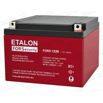 Аккумулятор FORS 1226 (12В, 26А/ч)