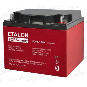 Аккумулятор FORS 1240 (12В, 40А/ч)