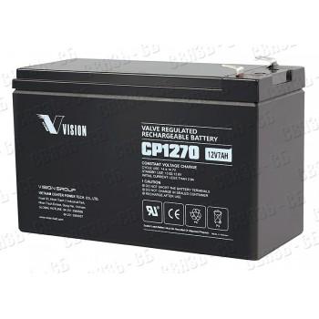 Аккумулятор CP 1270 (12 В, 7 А/ч)