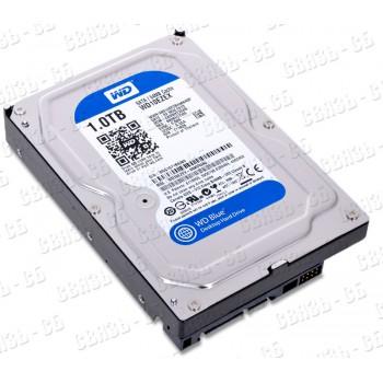 Жесткий диск SATA III 1Tb WD 7200rpm 64Mb (WD10EZEX Caviar Blue