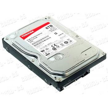 "Жесткий диск Toshiba SATA-III 6Tb HDWE160UZSVA X300 (7200rpm) 128Mb 3.5"""