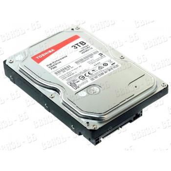 "Жесткий диск Toshiba SATA-III 3Tb HDWD130UZSVA P300 (7200rpm) 64Mb 3.5"""
