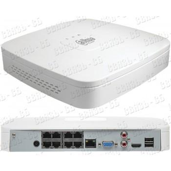 DHI-NVR2108-4KS2        Видеорегистратор 8-ми канальный IP  DAHUA
